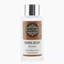 Oriental Delight 50ml Regular Reed Diffuser by FAVORI