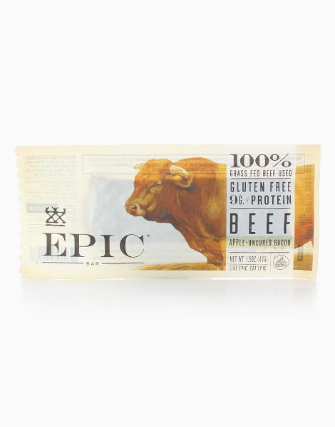Beef Apple Uncured Bacon Bar by Epic