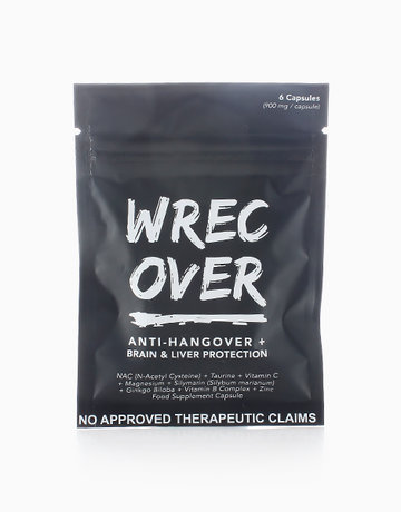WrecOver Anti-Hangover (6Caps) by WrecOver