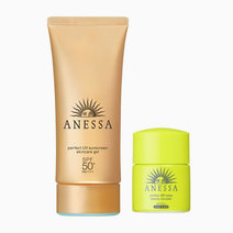 Anessa perfect uv sunscreen skincare gel  spf 50  pa     with bb booster%2890g%29
