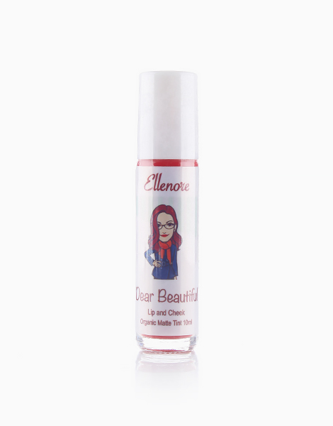 All Natural Lip and Cheek Tint by Dear Beautiful | Ellenore (Red Apples in Matte)