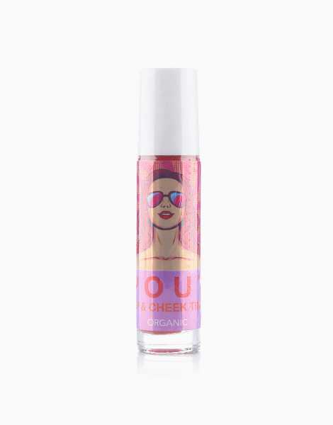Matte Lip and Cheek Tint by Pout   Berry Fairy (Red)