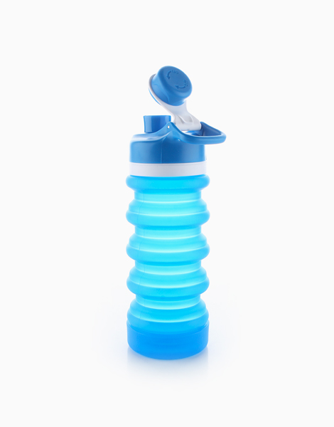 Spring Collapsible Bottle (550ml) by Spring Bottles PH | Pearl Blue