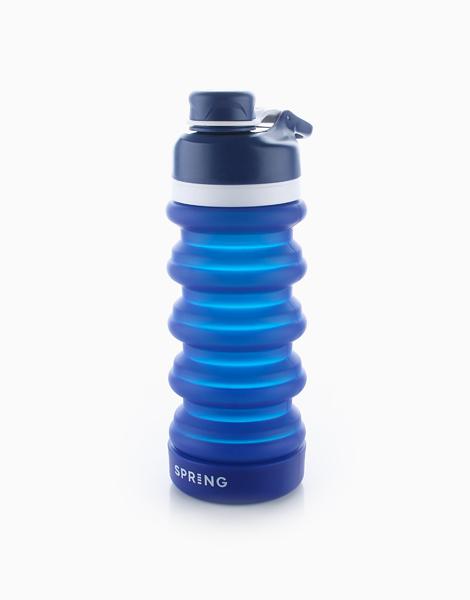 Spring Collapsible Bottle (550ml) by Spring Bottles PH | Atlantic Blue