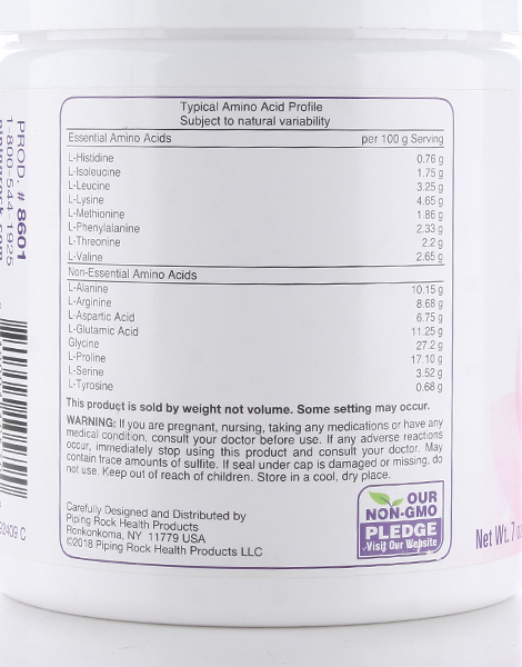 Ultra Collagen Powder Type I & III (198g) by Piping Rock