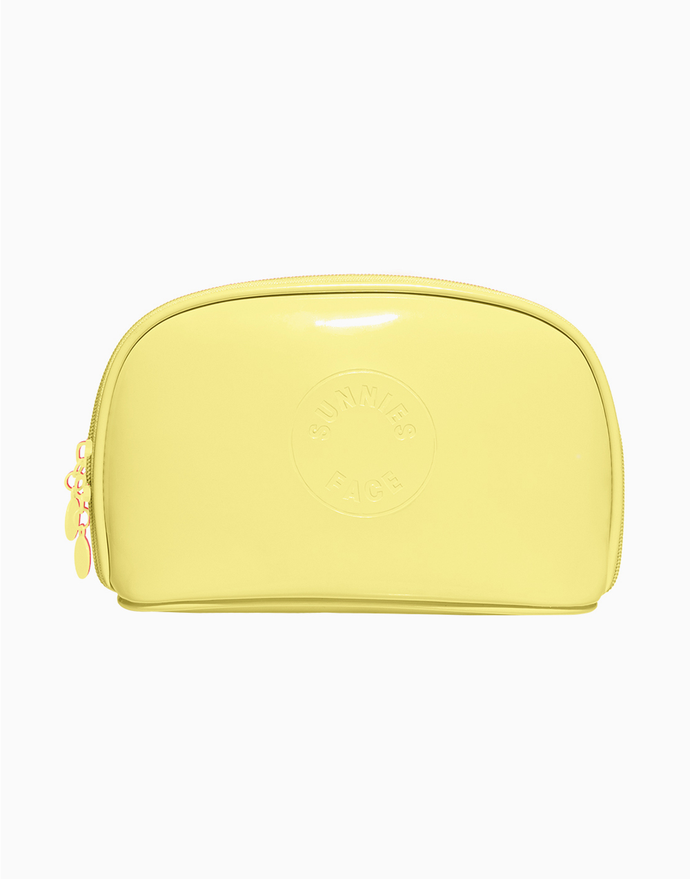 Sunnies Face Patent Pouch [Makeup Pouch] (Butter) by Sunnies Face