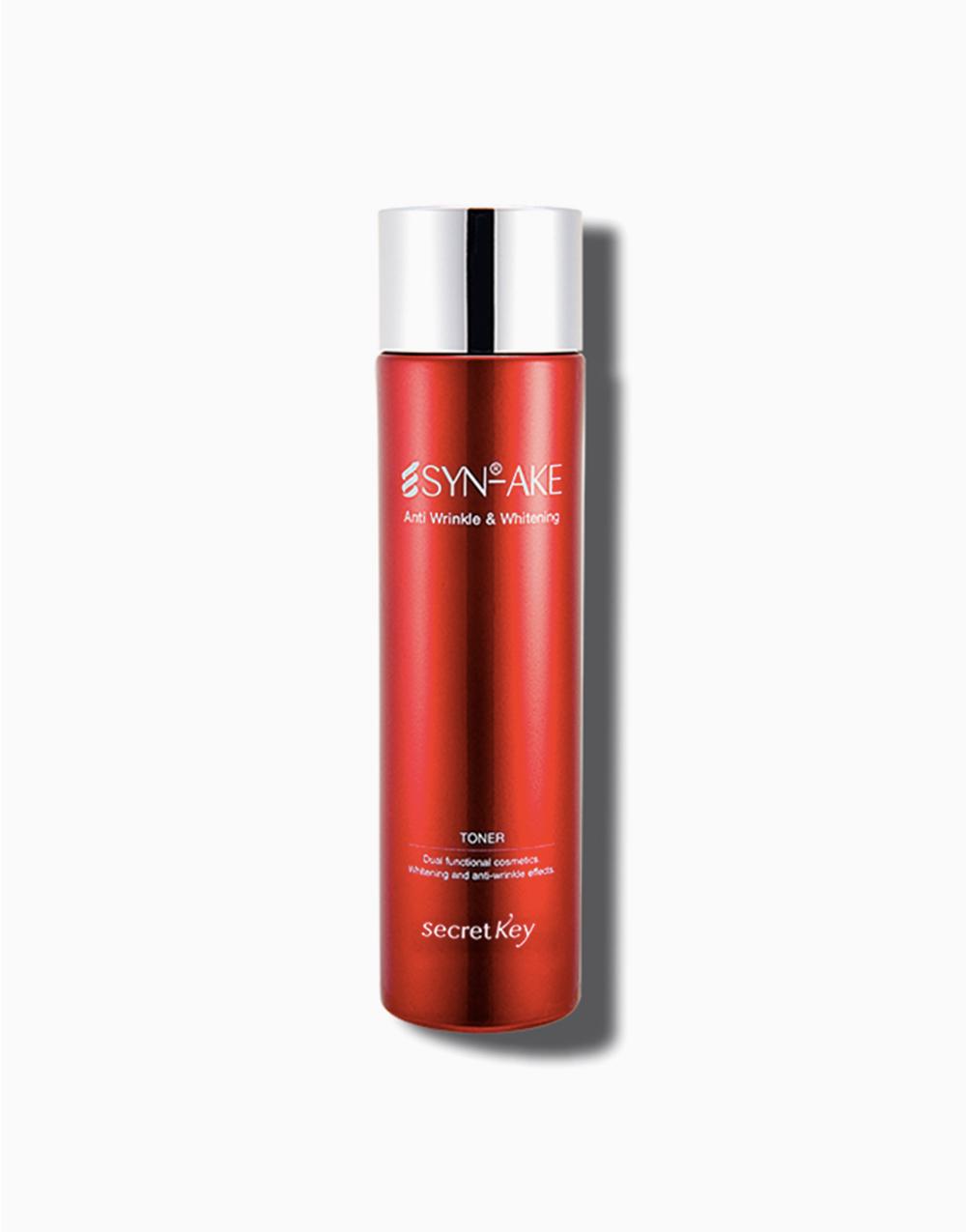 Syn-ake Anti Wrinkle & Whitening Toner by Secret Key