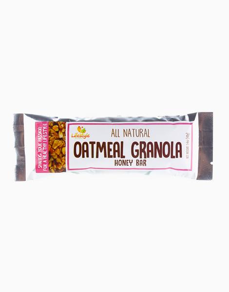 Oatmeal Granola Honey Bar by Lifestyle Gourmet
