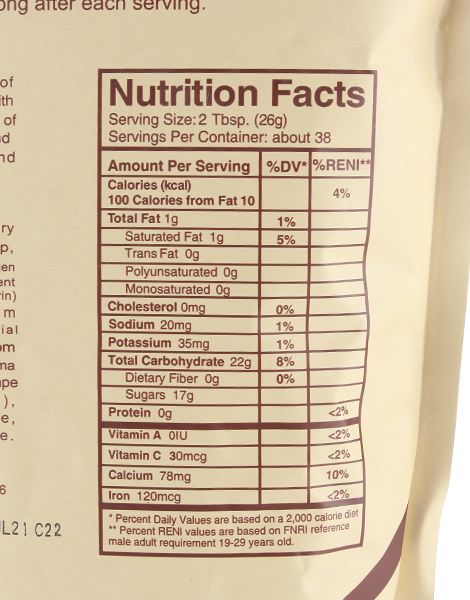Kaffea Coffee Drink Mix with Coco Sugar (1kg) by Kaffea Healthy Coffee Blend