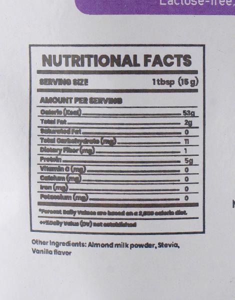 Almond Milk Powder (200g) by SOZO Natural