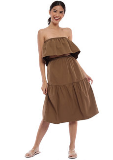 Georgina Bandeau and Midi Skirt Coords by Babe