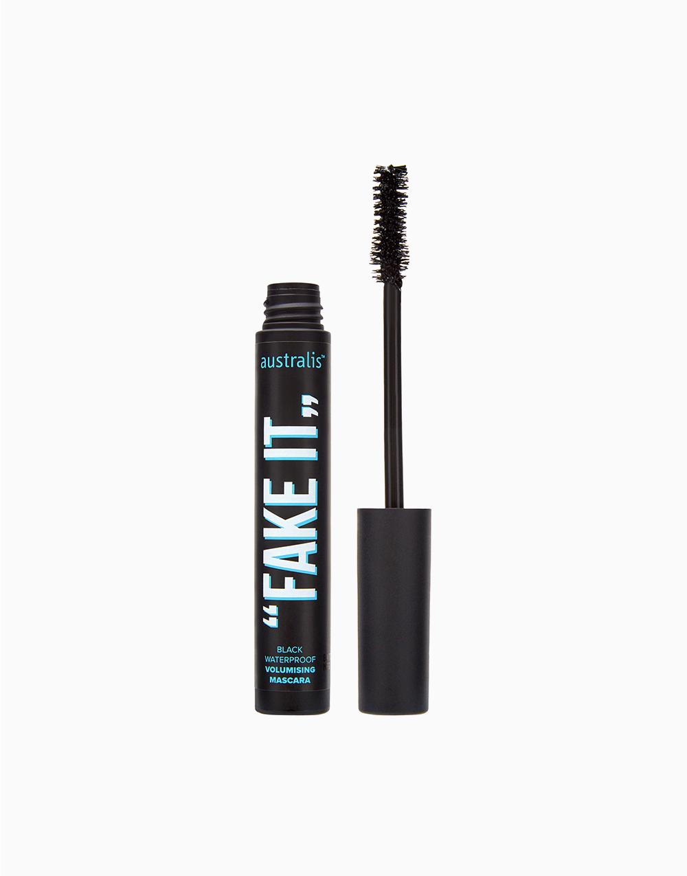 Fake It! Volumizing Mascara Waterproof by Australis | Black