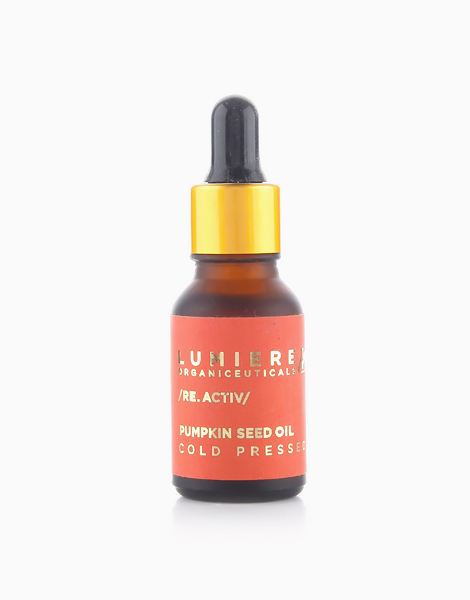 Re-Activ Pure Cold-Pressed Pumpkin Seed Oil by Lumiere Organiceuticals