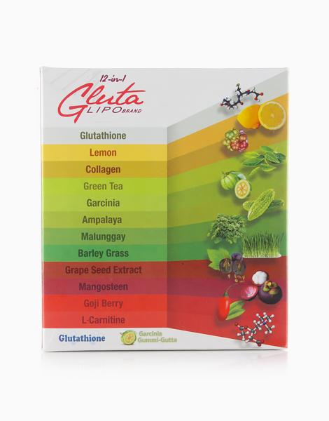 Gluta Lipo 12 in 1 (10 Sachets) by Gluta Lipo Juice Drink