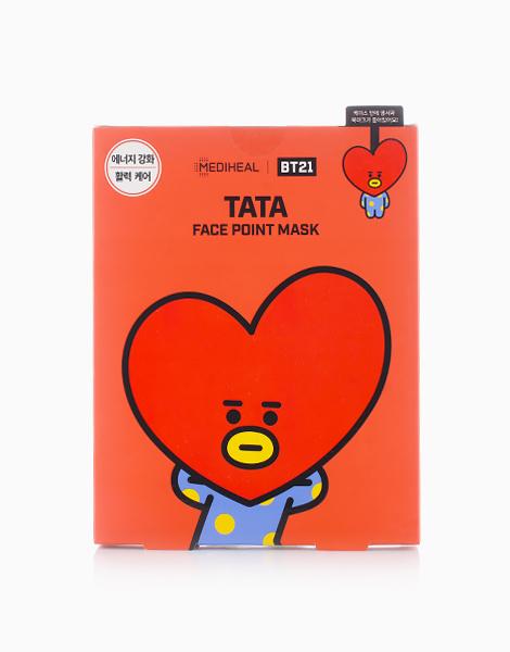 BTS BT21 Face Point Mask (Tata) by Mediheal