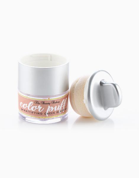 Color Puff Mattifying Cheek Blush by Beauty Bakery | Drunk Peach
