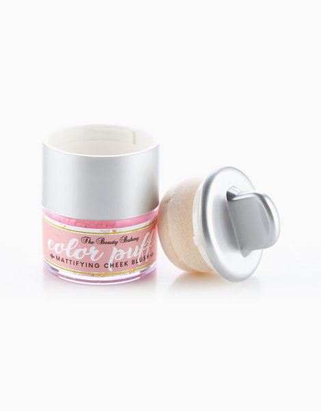 Color Puff Mattifying Cheek Blush by Beauty Bakery   Peach Pink