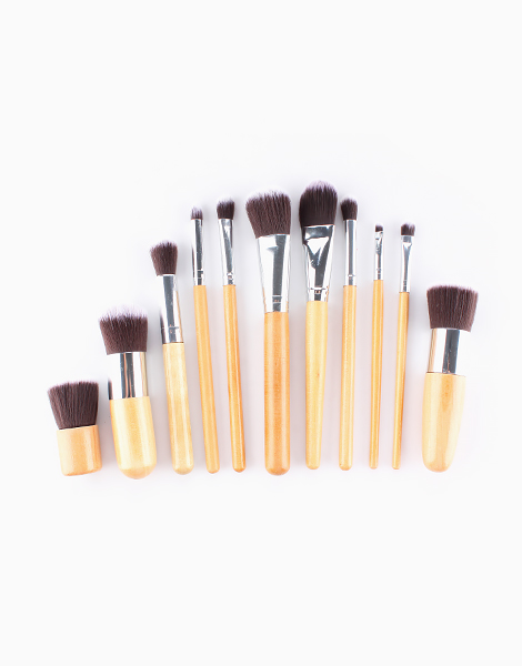 11-Piece Brush Set with Pouch by Mermaid Dreams