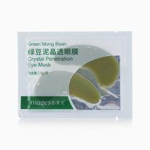 Green Mung Bean Eye Mask by Images