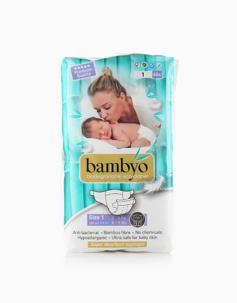 Bambyo Diapers Size 1 (40 Pads) by Bambyo