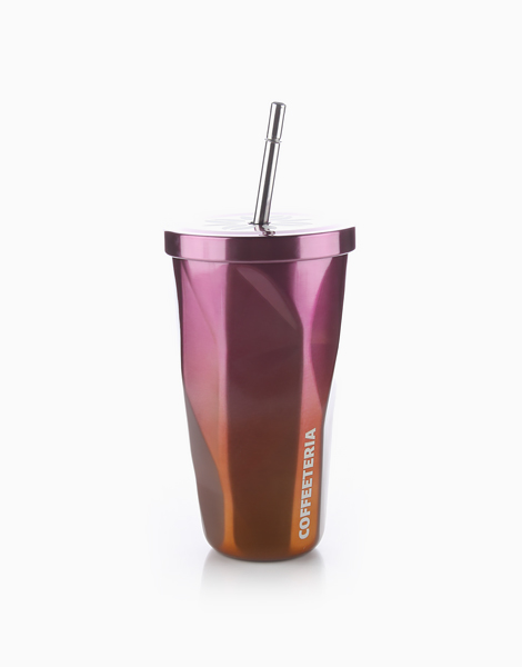 Double Wall Vacuum Tumbler by Coffeeteria | Cara Orange