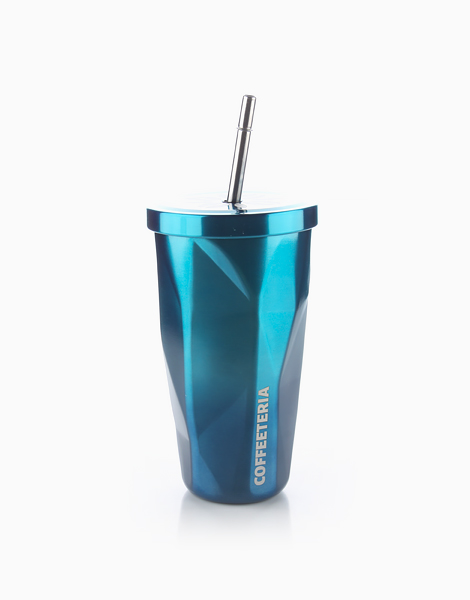 Double Wall Vacuum Tumbler by Coffeeteria | Blue Wave