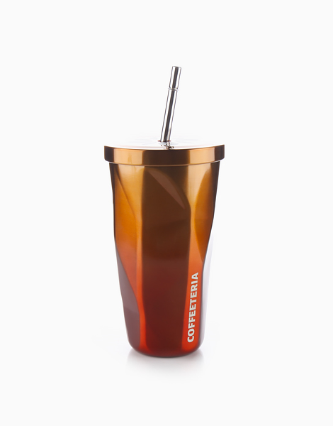 Double Wall Vacuum Tumbler by Coffeeteria | Sunset