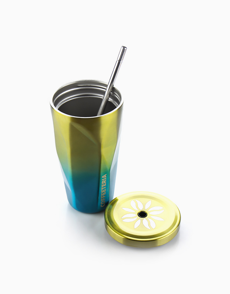 Double Wall Vacuum Tumbler by Coffeeteria | Lime Green