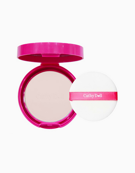 Speed White CC Powder Pact SPF 40 PA+++ Mini (4.5g) by Cathy Doll | #21 Light Beige