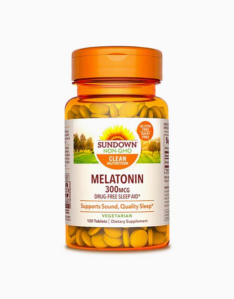 Melatonin (300mcg x 120 Tablets) by Sundown Naturals