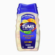 Tums antacid chewable tablets for heartburn relief  ultra strength  assorted fruit  72 tablets