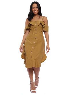 Caroline Off Shoulder & Skirt Coords by Babe