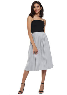 Pleated Skirt by Pink Lemon Wear