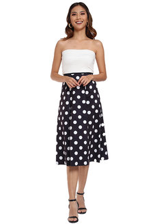 Maja Polka Dot Skirt by Pink Lemon Wear