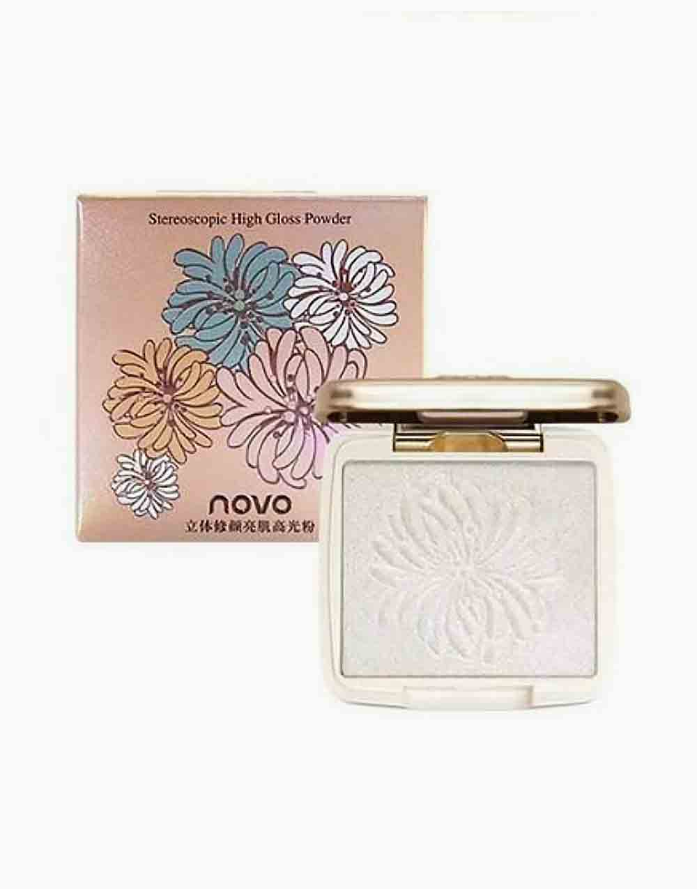 Stereoscopic Highlighter Powder by Novo Cosmetics | #1 Moonlight