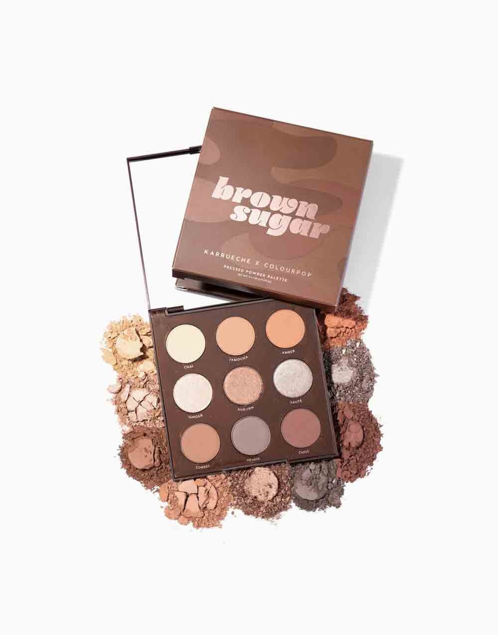 Brown Sugar Pressed Powder Shadow Palette by ColourPop
