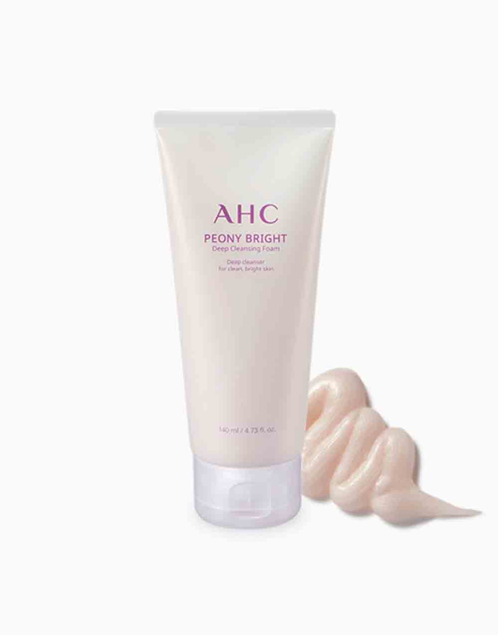 Peony Bright Deep Cleansing Foam (140ml) by AHC