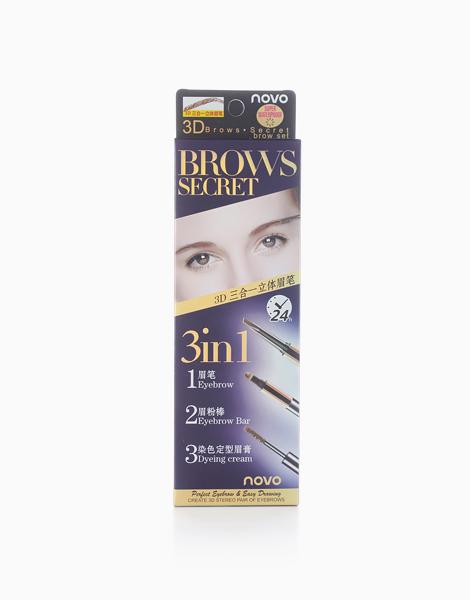 3-in-1 Brows Secret by Novo Cosmetics  