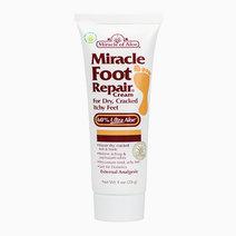 Miracle of aloe  miracle foot repair cream with 60  ultraaloe 1 ounce tub