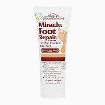 Miracle of aloe  miracle foot repair cream with 60  ultraaloe 4 ounce tub