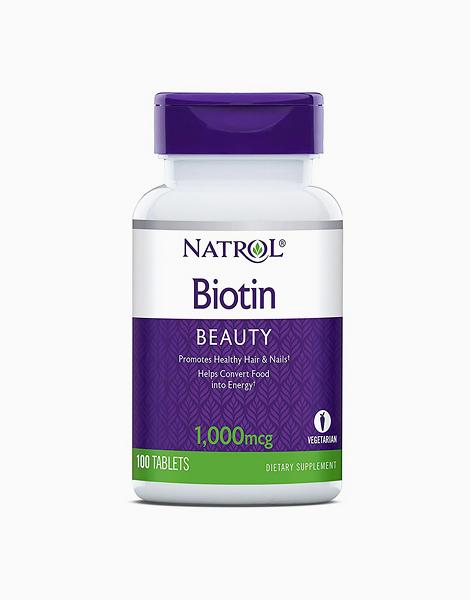 Natrol Biotin 1000 mcg - 100 Tablets by Natrol