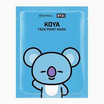 BTS BT21 Face Point Mask (Koya) by Mediheal