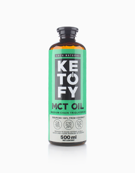 MCT Oil (500ml) by SOZO Natural