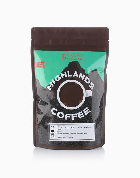 100% Organic Coffee by SOZO Natural