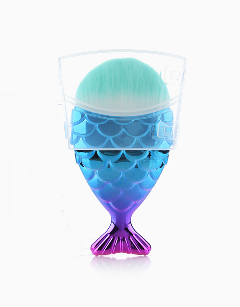 Multipurpose Mermaid Brush with Cover by Mermaid Dreams | Blue Violet Ombrè
