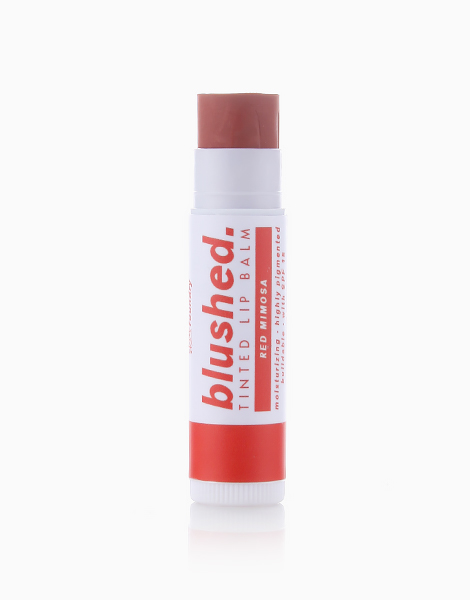 Blushed Tinted Lip Balm by Skin Foundry   Red Mimosa