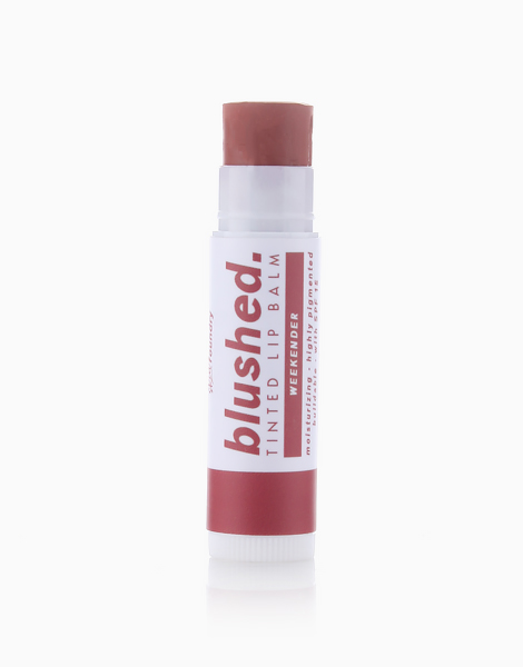 Blushed Tinted Lip Balm by Skin Foundry   Weekender