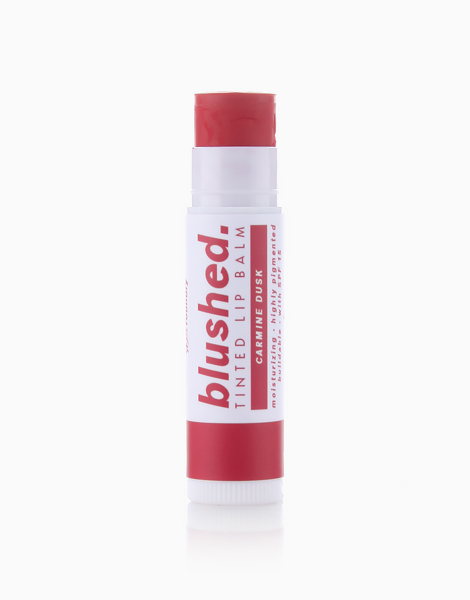 Blushed Tinted Lip Balm by Skin Foundry   Carmine Dusk