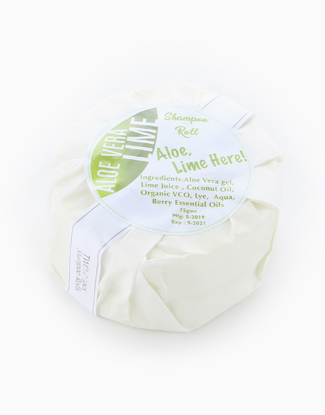 Solid Shampoo Roll by The Soap Farm | Aloe, Lime here!