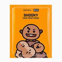 BTS BT21 Face Point Mask (Shooky) by Mediheal